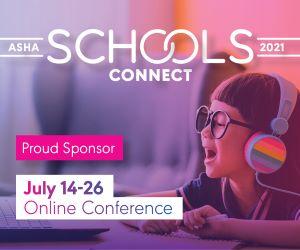 ASHA Schools Connect Sponsor Badge