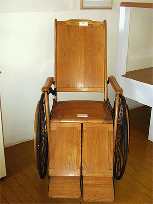 wheelchair in ancient china