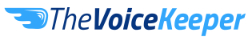 The VoiceKeeper logo